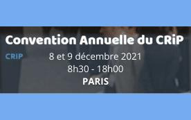 CONVENTION ANNUELLE DU CRIP